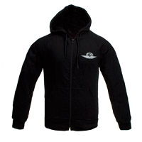 Silver Wings Logo Zip-Up Hoody