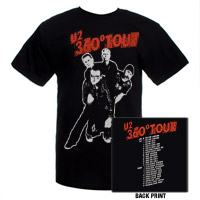 Band Photo T-Shirt With European Tour Dates