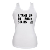 Stand Up To Rock Stars Tank Top