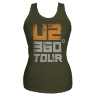 U2 360 Tour Tank Top