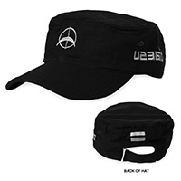 U2 360 Tour Logo Black Cap