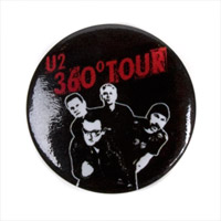U2 Band Photo Button