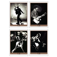 Set Of Four 'Live On U2 360'  Lithographs