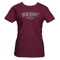 U2 2011 360 Tour Babydoll Shirt