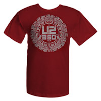 U2 2011 Buddhist Punk Circle T-shirt