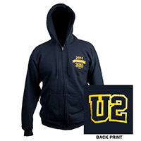 U2360 Tour 2011 Zip Up Hoody