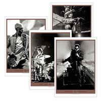 'U2360° Tour From The Ground Up' Lithographs