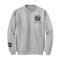 Songs Of Innocence Pull Over Crew Sweatshirt (Grey)