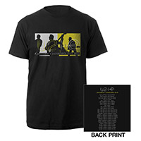U2ie Tour Photo Dates T-Shirt