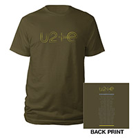 U2ie Tour Logo T-shirt Green