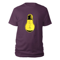 U2ie Lightbulb Men's T-Shirt