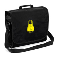U2ie Lightbulb Messenger Bag