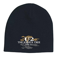 The Joshua Tree Tour 2017 Logo Beanie