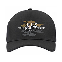 The Joshua Tree Tour 2017 Logo Cap