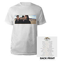 The Joshua Tree Album Cover North American Tour T-Shirt