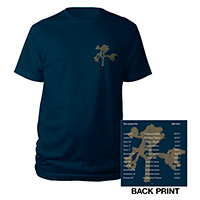 The Joshua Tree European Tour 2017 Navy T-Shirt