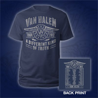 Van Halen Winged Logo 2012 Tour T-Shirt