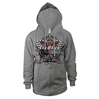 Van Halen 2012 World Tour Zip-Up Hoodie
