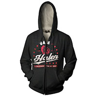 Vintage Logo Van Halen Zip-Up Hoodie