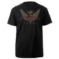Van Halen Winged Crown Logo Tee