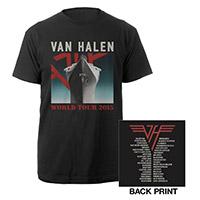 Van Halen World Tour 2015 Ship Tee