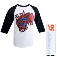 Flying Fist Raglan Tour Tee