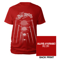 TWOTW Red Fighting Machine T-shirt