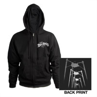 TWOTW Charcoal Fighting Machines Hoody