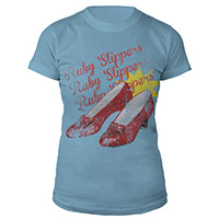 Wizard of Oz Ruby Slippers Juniors Shirt