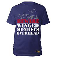 Beware Winged Monkeys Shirt