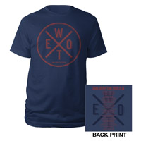 Walk Off The Earth Logo Spokes Tour Tee
