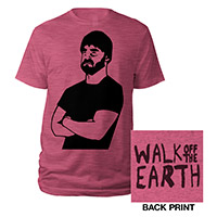Bearded Heather Raspberry Tee
