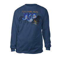 Fly From Here Logo Long Sleeve Tee