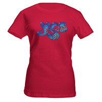 Yes Logo Babydoll Tee