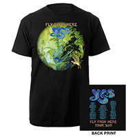 Official 2011 Fly From Here Tour Tee