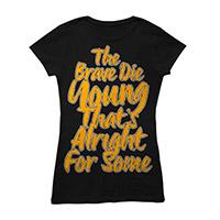 Brave Die Young Black Babydoll