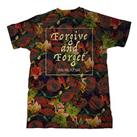 Forgive & Forget Allover Print T-shirt