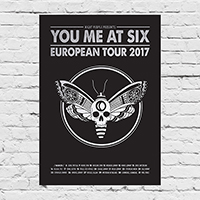 YMAS 2017 European Tour Lithograph