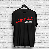 YMAS Swear Black T-shirt