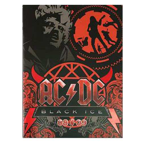 AC/DC Black Ice Tour Programme