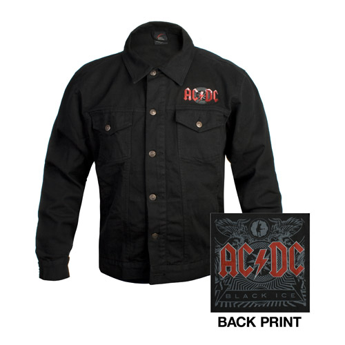 AC/DC Black Ice Denim Work Shirt