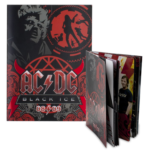 AC/DC Opening Night Tour Program