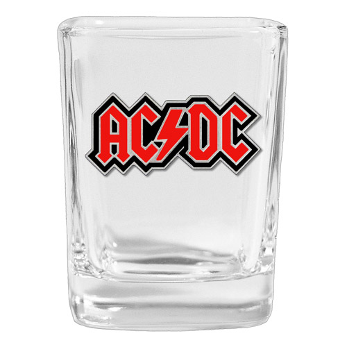 AC/DC Square Shot Glass