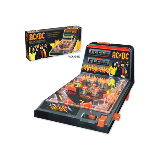 AC/DC Collector's Tabletop Pinball Machine