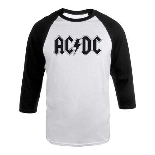 AC/DC Baseball Raglan