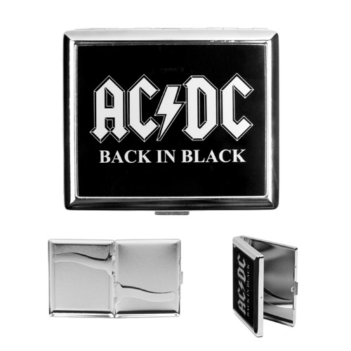 Back in Black Cigarette Case
