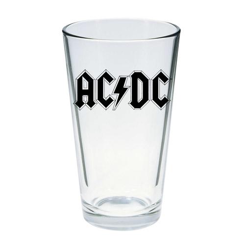 AC/DC Logo Pint Glass