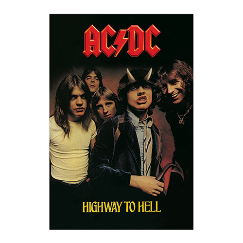 AC/DC Highway To Hell Album Cover Poster