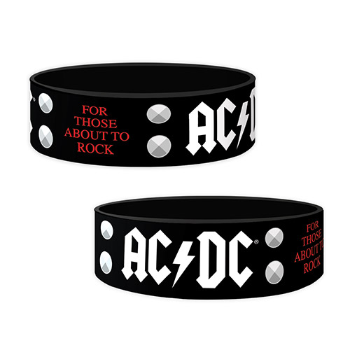 AC/DC For Those About To Rock Wristband