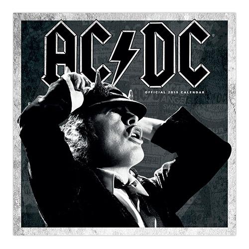 AC/DC 2015 Wall Calendar